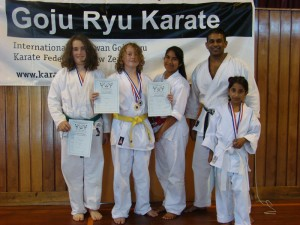 Karate Tourn Turangi 1