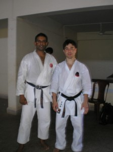 Raj and Eric