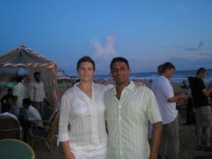 Linda and Raj